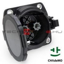 ChaDeMo DC charging socket with 1 m wiring