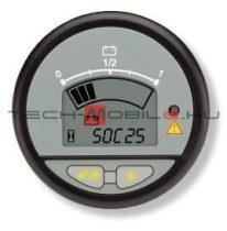 CAN-es kijelző akkumulátor felügyeleti rendszerekhez