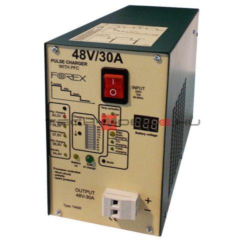 akkumulátortöltő - 48V 30A