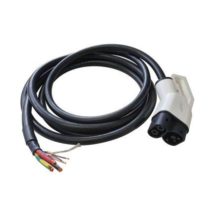 töltő csatlakozódugó CCS2 (IEC62196-3) 200A, 6 m kábellel