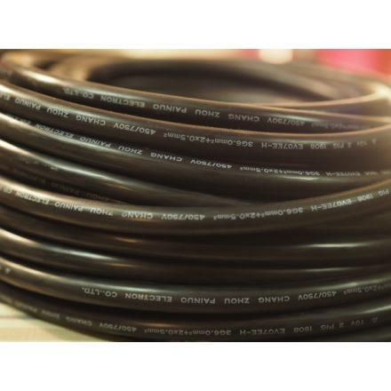 kábel - elektromos autó töltőkábel 3G6+2x0,5 EV07EE-H