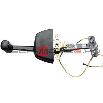 Gázkar - teleflex, távkapcsoló egykaros, sülly.műa. síkra szerelhető, süllyesztett, fekete