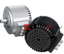 BLDC three-phase motor 48V 10kW air cooled