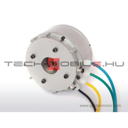 DC motor BLDC HPM 48V / 3000W - water cooled