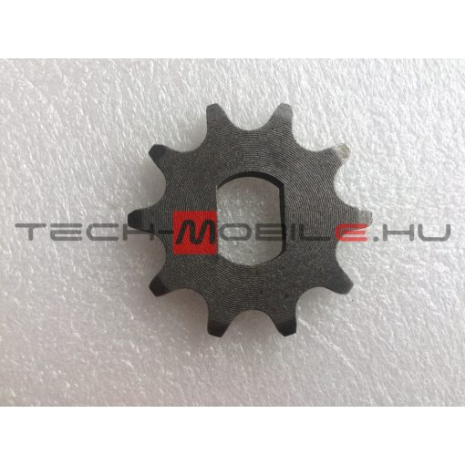 chain sprocket z = 10, d = 17 mm, double sided, sheet distance 12mm