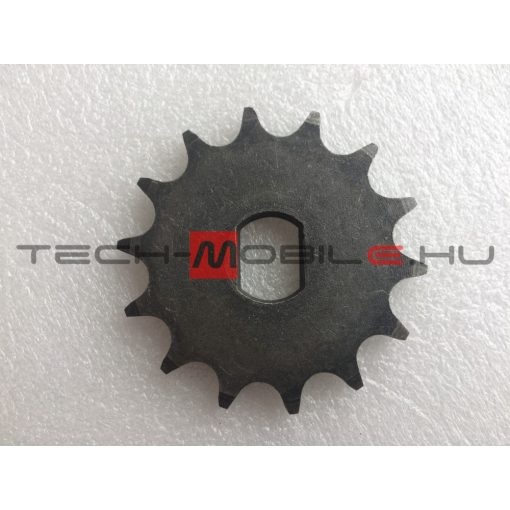 chain sprocket z = 14, d = 17 mm, double sided, sheet distance 12mm