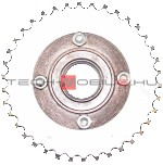 "sprocket with freewheel z = 34, inner diameter: 1-3 / 8 "", chain: 1/2"" x 1/8 """