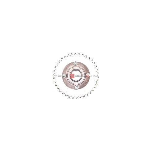 "sprocket with freewheel z = 38, inner diameter: 1-3 / 8 "", chain: 1/2"" x 1/8 """
