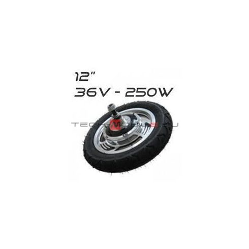 """MW12B - 12 """"brain motor - for electric roller or bicycle"""
