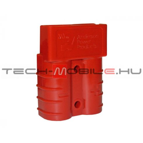 Connector - Anderson 2 pole, SB housing - red, 24V
