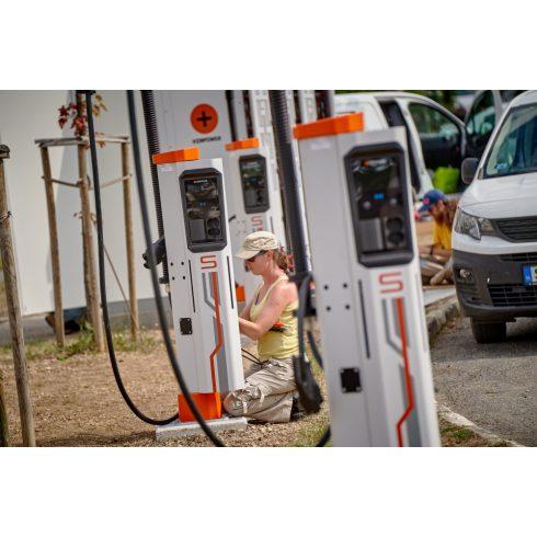 Elektromos autó töltő telepítés