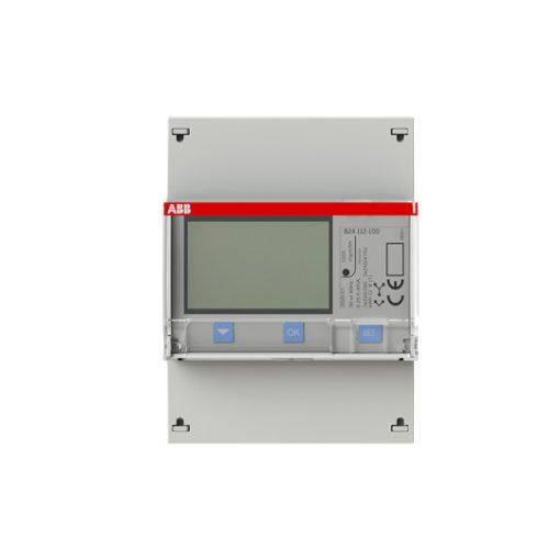 ABB digitális áramváltós teljesítménymérő LCD, 7 számjegyes, 3 fázisú, áramváltós
