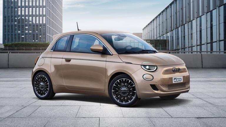 Fiat 500e 3+1,Cabrio
