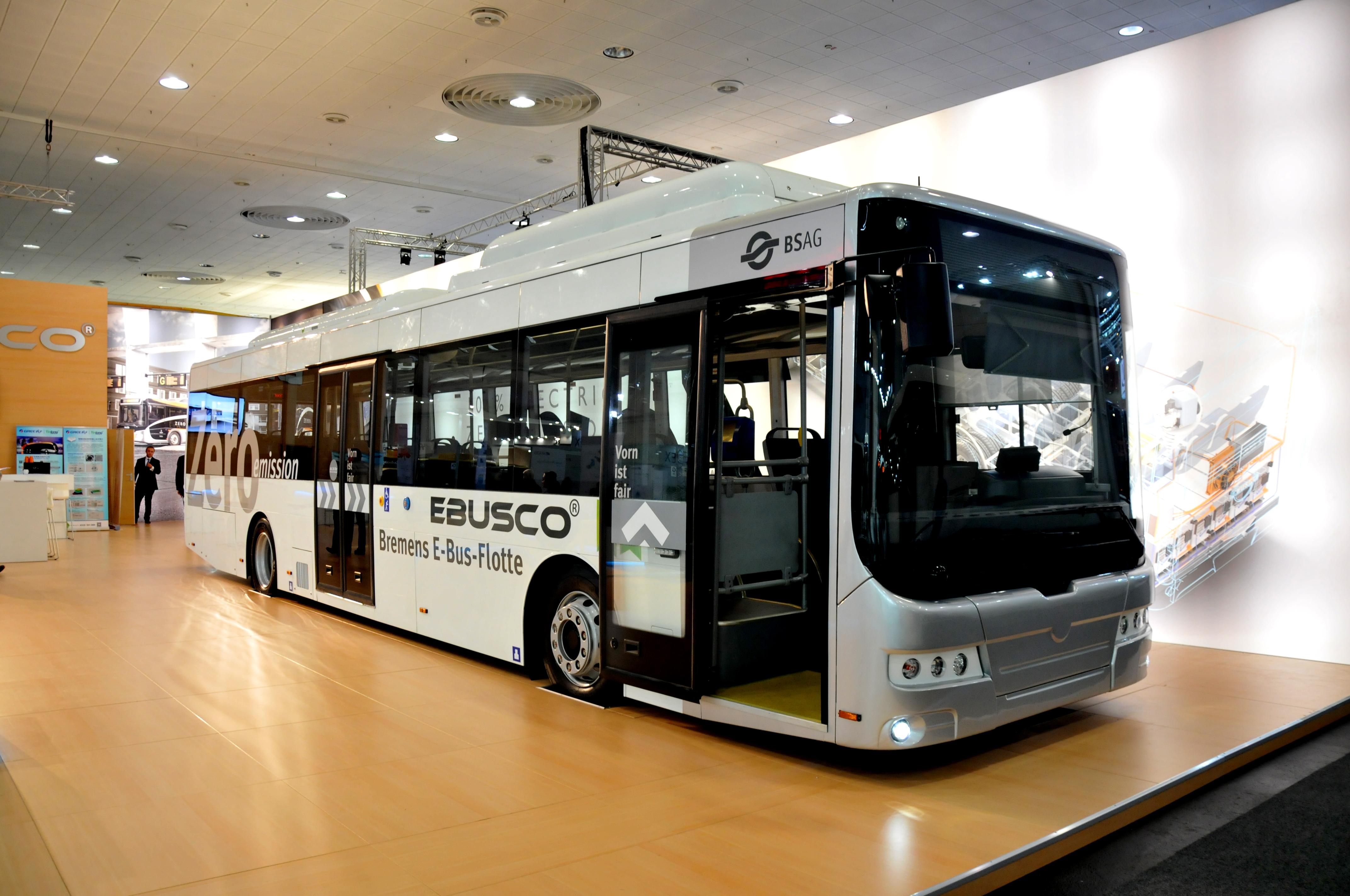Új fejlesztésű, hosszú élettartamú, tisztán elektromos autóbusz: Az Ebusco 3.0