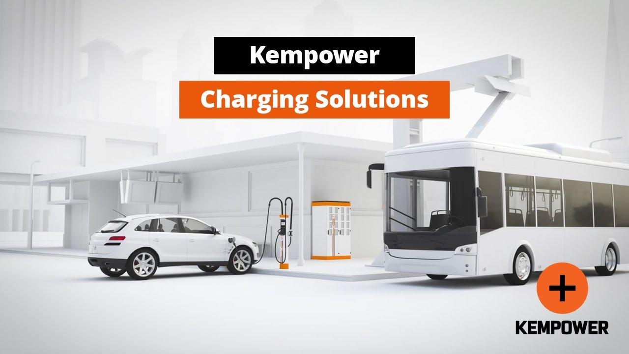 A Kempower elektromos autóbusz töltőegységeket szállít Jönköpingbe